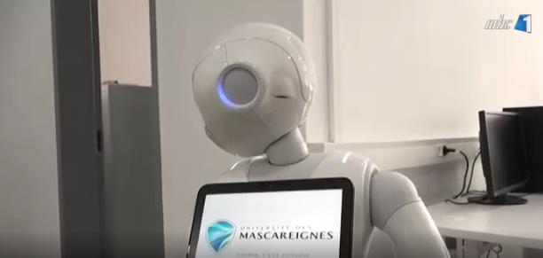 [MBC 1] Opening of a robotics room at the Université des Mascareignes